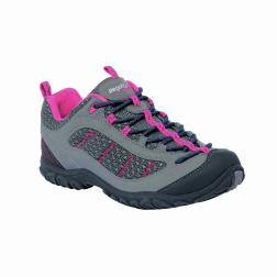 RWF293    Lady Edgepoint Trail Shoe  - Colour Steeple Grey/Rose
