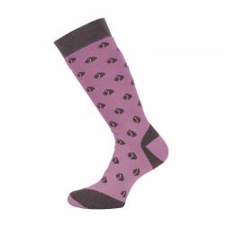 RWH003    Womens Welly Sock  - Colour Firewood