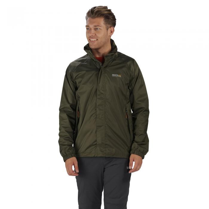 Magnitude IV Jacket Olive Night