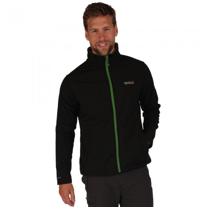 Black/Alpine Green