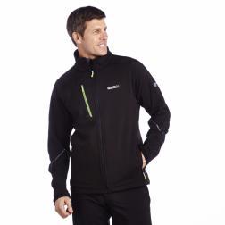RML080    Davies Softshell Jacket  - Colour Black