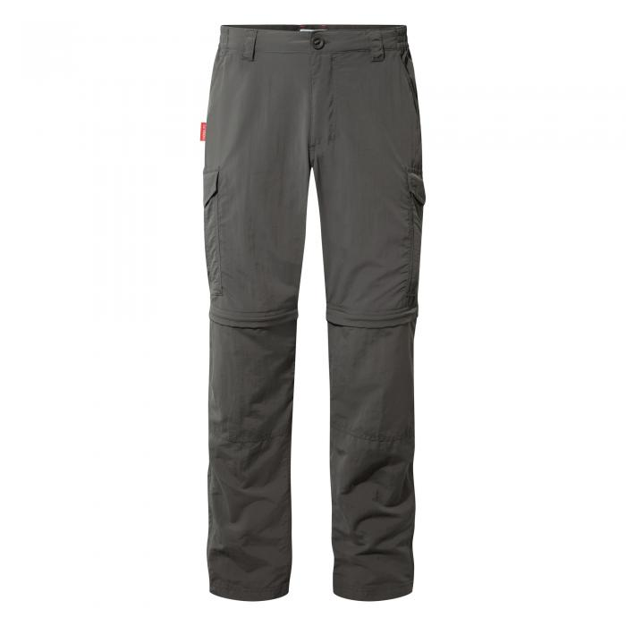 Insect Shield Convertible Pants Black Pepper