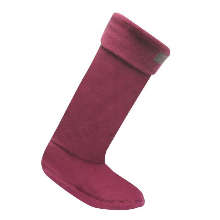 Fleece Wellington Socks Blackcurrant