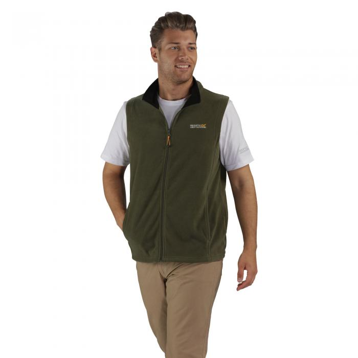 Tobias II Gilet Olive Night