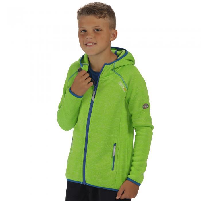 Dissolver Hooded Fleece Green Flash