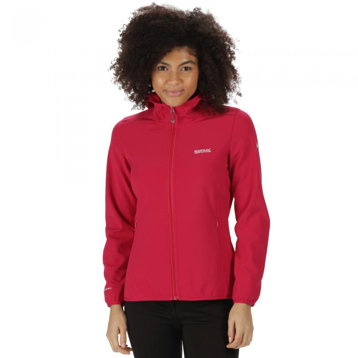 Women's Arec Softshell Jacket Cerise