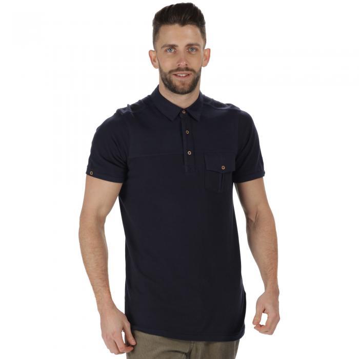 Bleeker Polo Shirt Navy