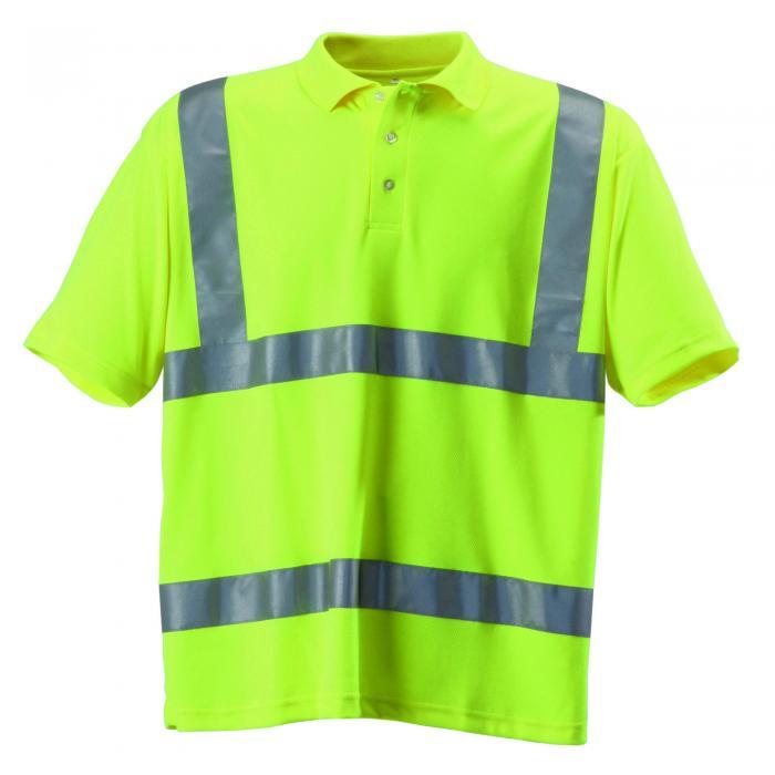 Hi-Vis Polo Shirt Yellow
