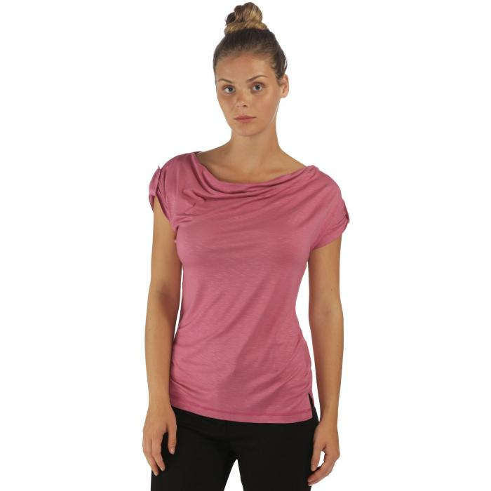 Nolana T-Shirt Red Violet