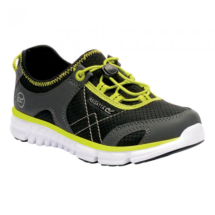 Platipus II junior Shoe Black Neon