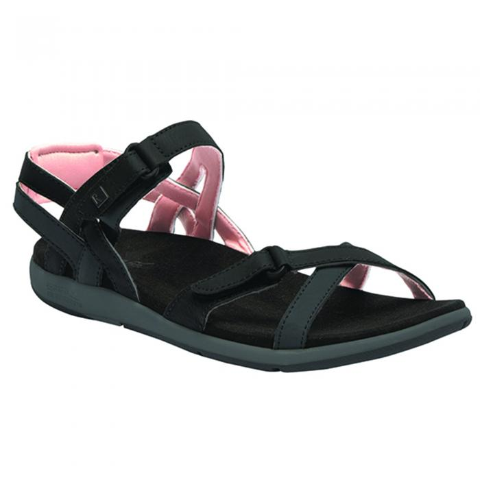Lady Santa Cruz Sandal Black Tan