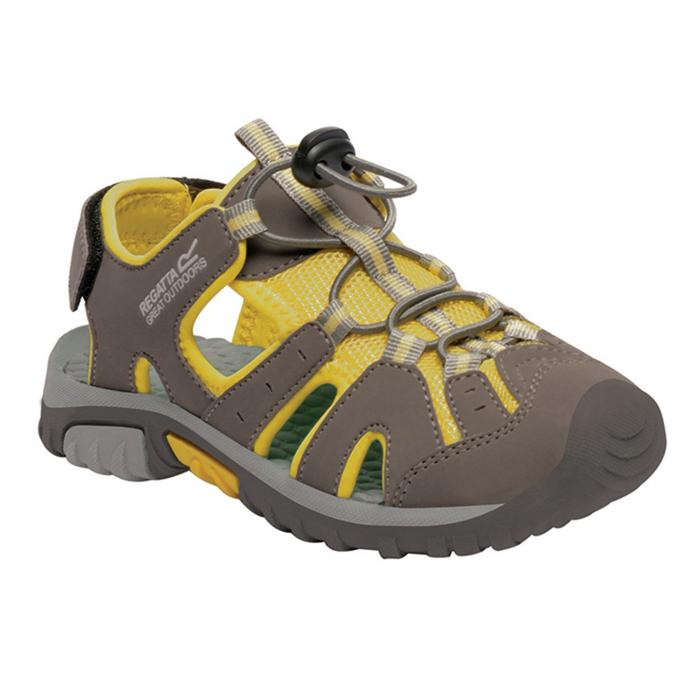 Deckside Junior sandal Walnut Yellow