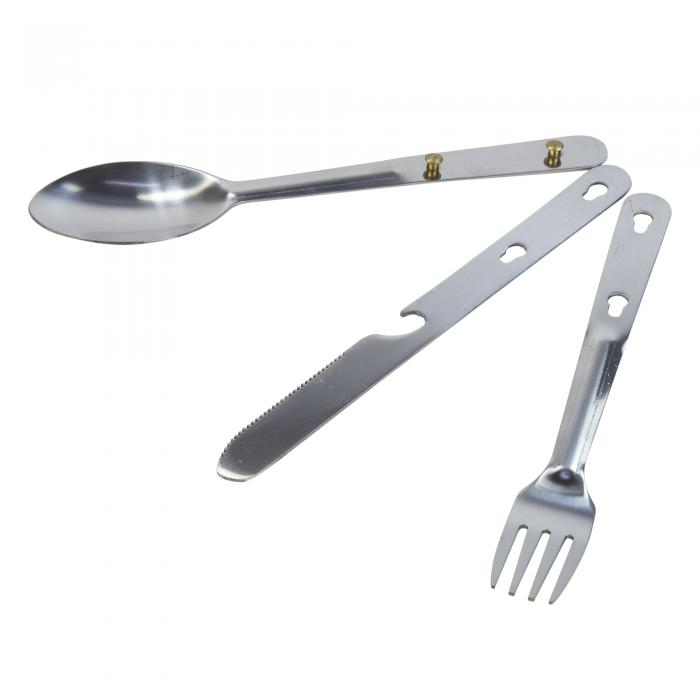 Steel Cutlery Set Silver