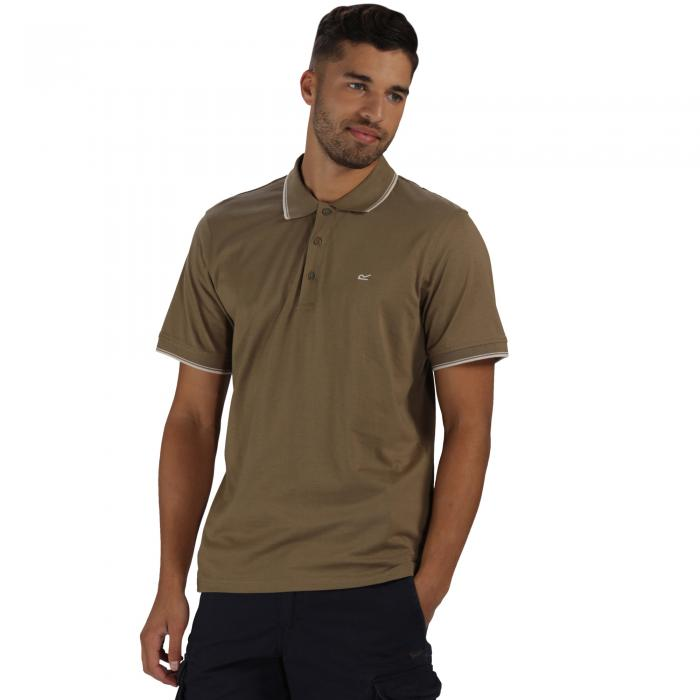 Kaine Polo Shirt Dusky Green