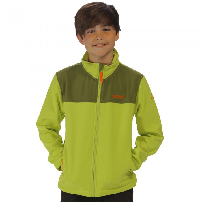 Vargo II Softshell Jacket Lime Green