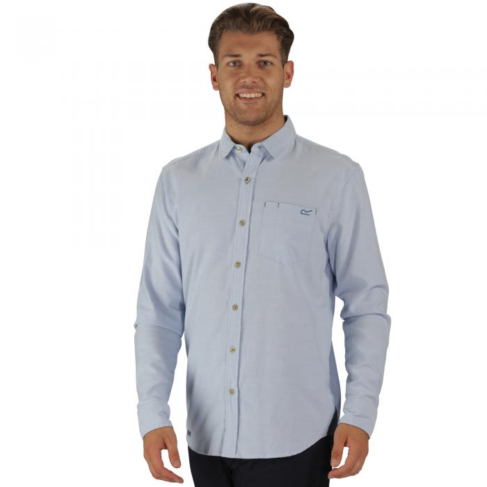 Benas Shirt Powder Blue