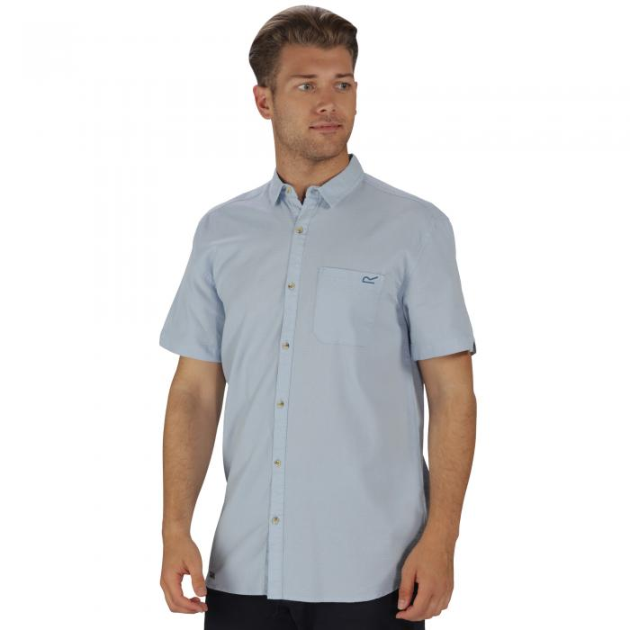 Deegan Shirt Powder Blue