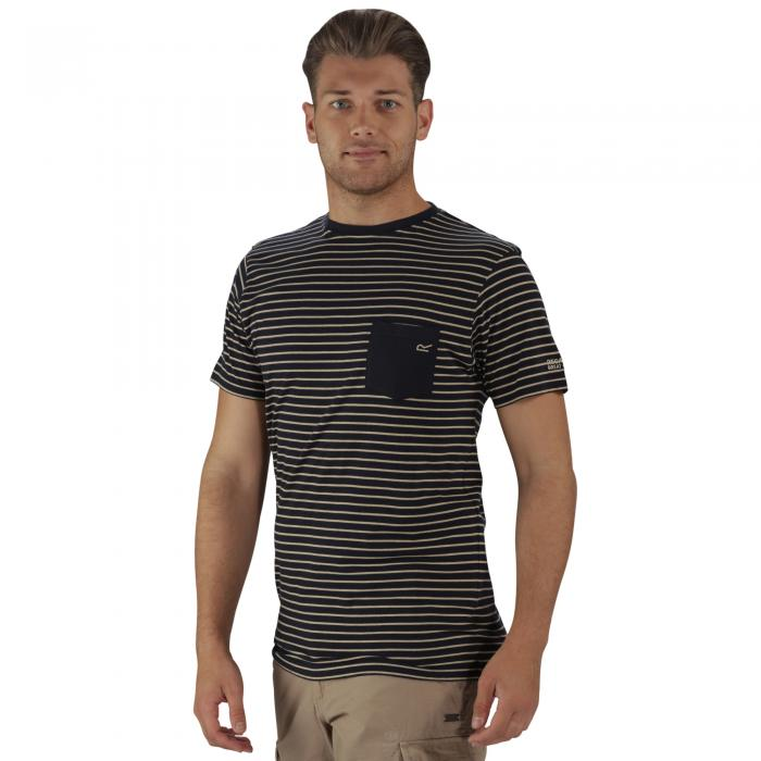 Twain T-Shirt Navy