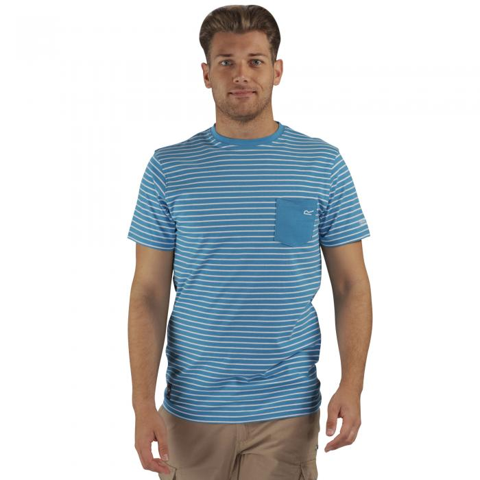 Twain T-Shirt Coastal Blue