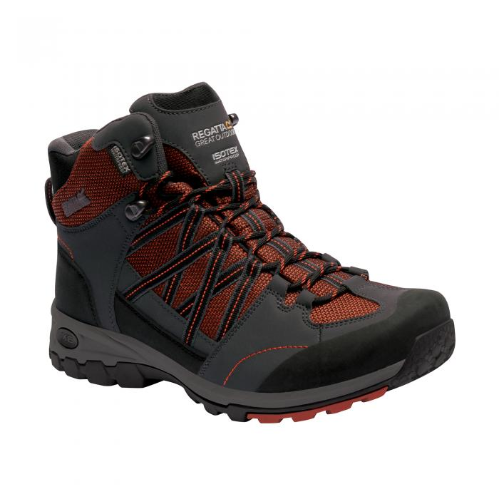 Samaris Mid Hiking Boot Orange Briar