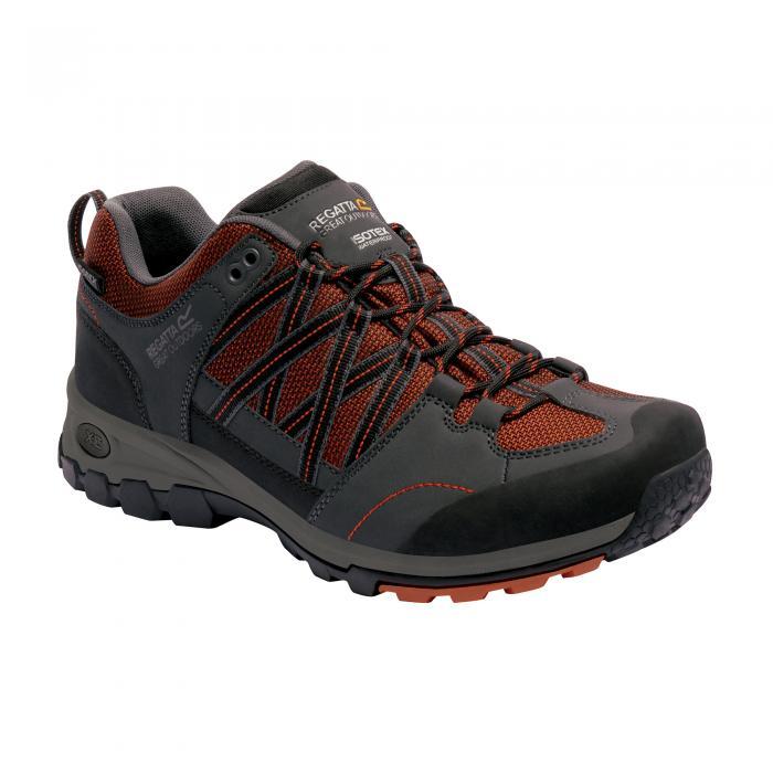 Samaris Low Hiking Shoe Orange Briar