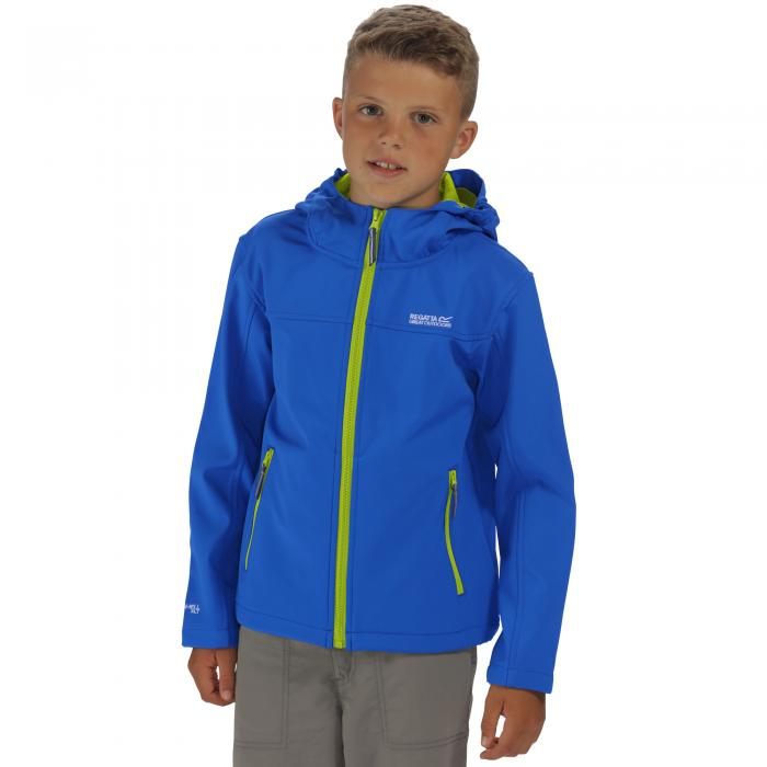 Tyson II Softshell Jacket Oxford Blue Lime
