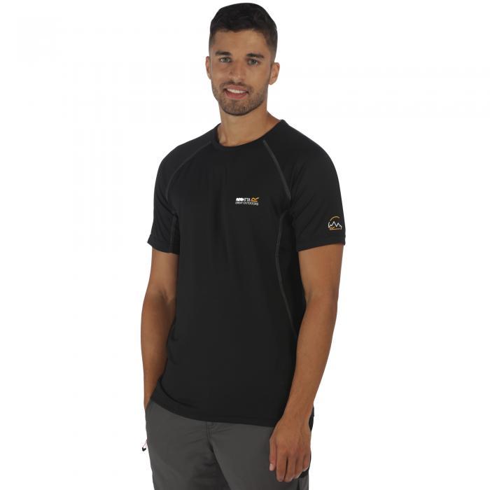 Virda T-Shirt Black Black