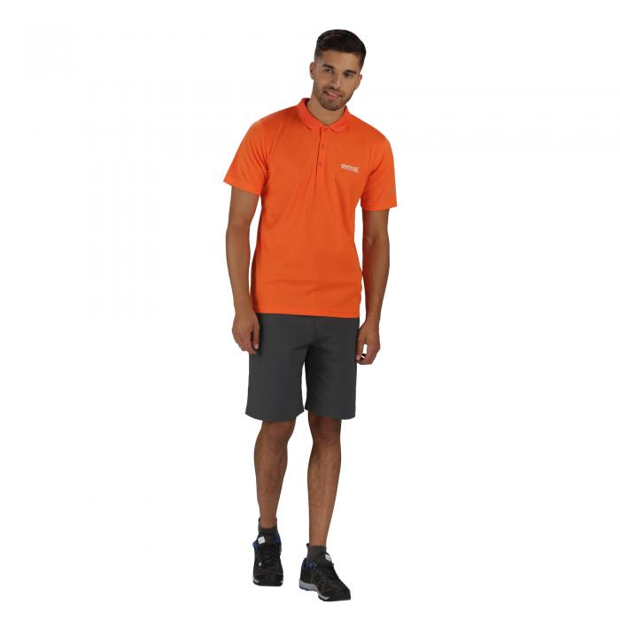 Maverik III Polo Shirt Magma Orange