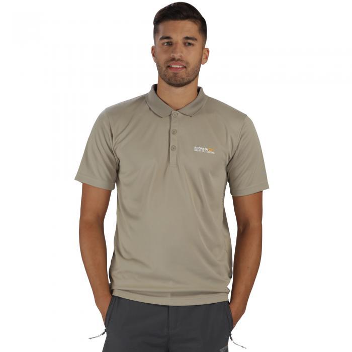 Maverik III Polo Shirt Parchment
