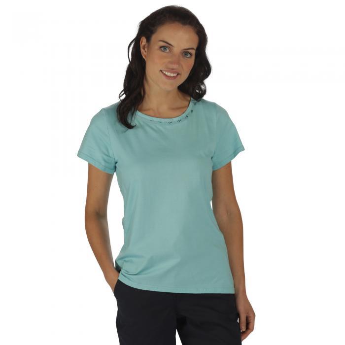 Aleesha T-Shirt Tahiti Blue