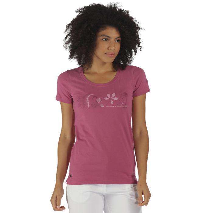 Filandra T-Shirt Red Violet