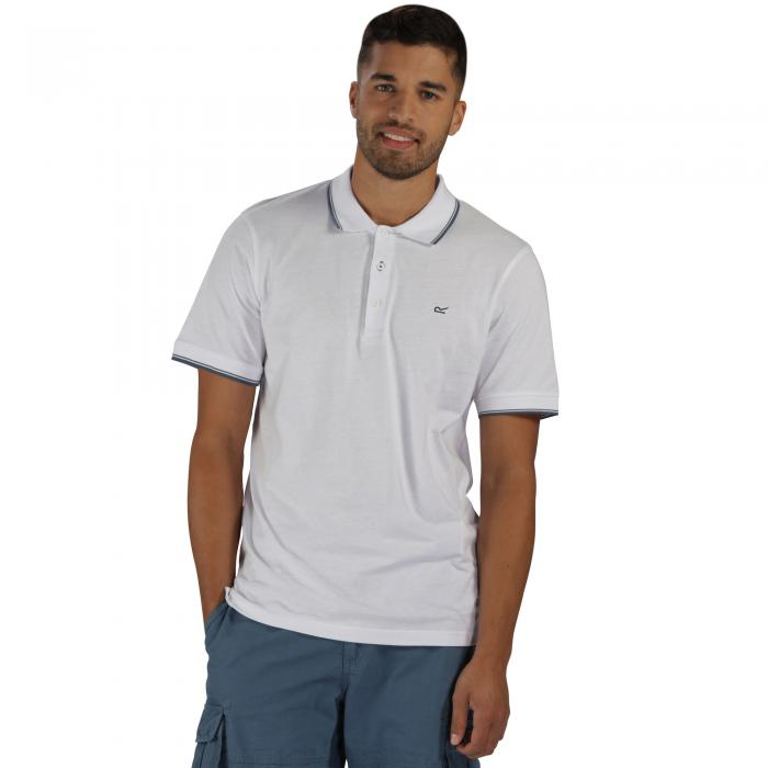 Kaine Polo Shirt White