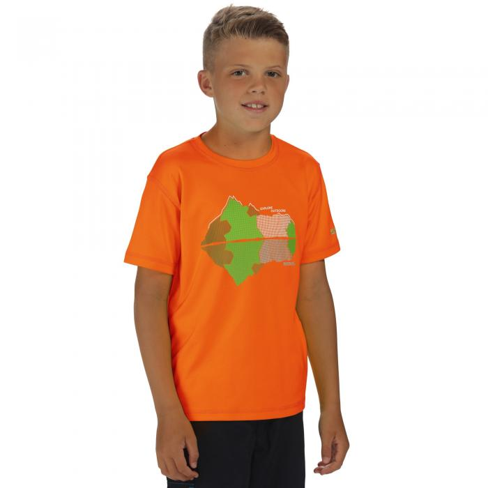 Alvarado II T-Shirt Magma Orange