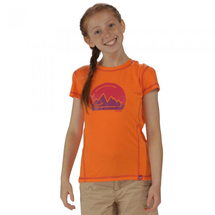 Motion II T-Shirt Magma Orange