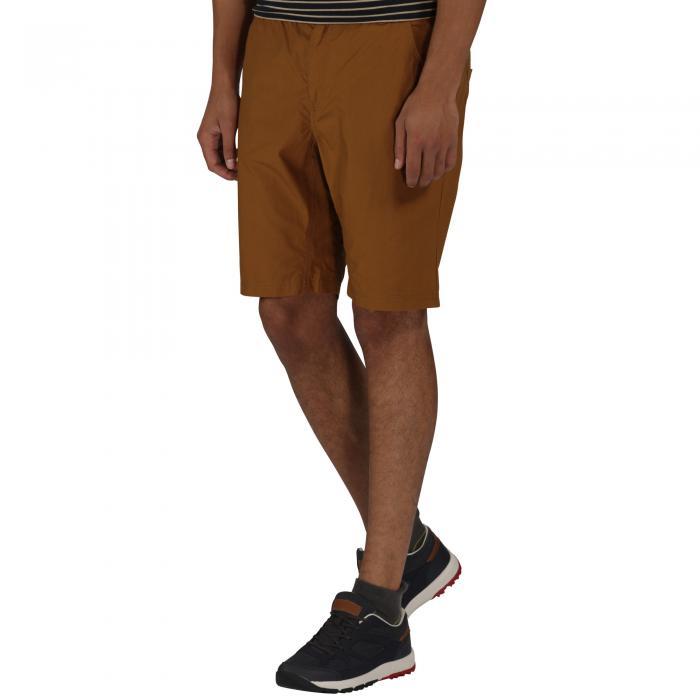 Sanjaro Shorts Dark Cumin