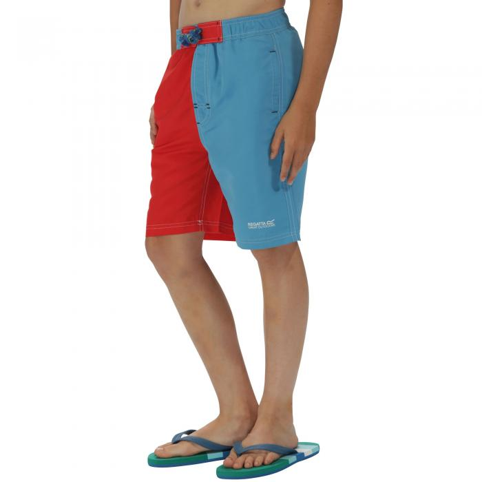Boys Skooba II Swim Shorts Blue Pepper