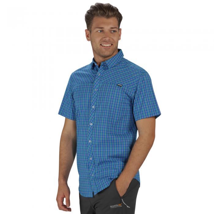 Honshu II Shirt Hydro Blue