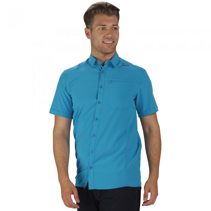 Kioga Shirt Hydro Blue