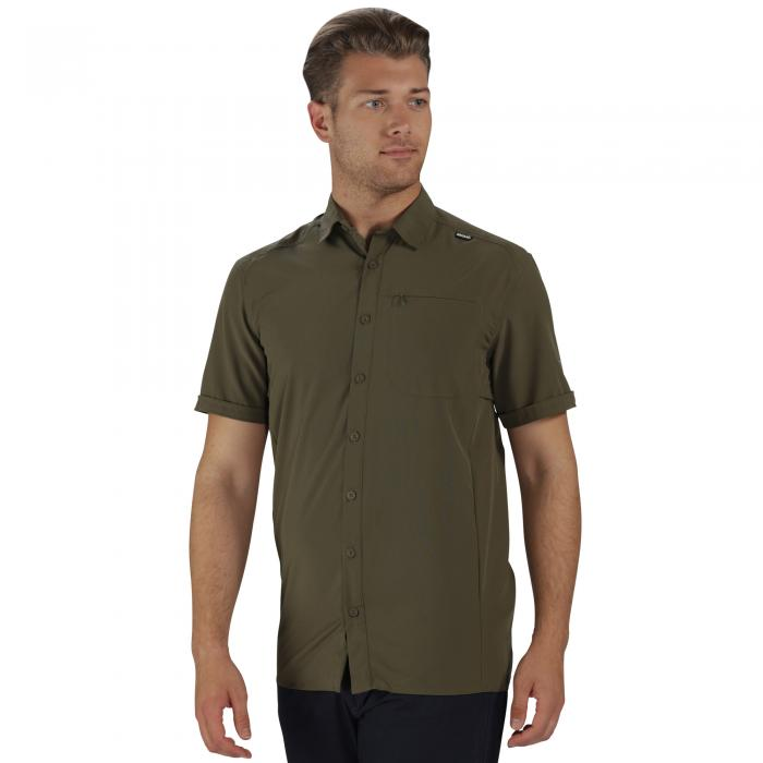 Kioga Shirt Olive Night