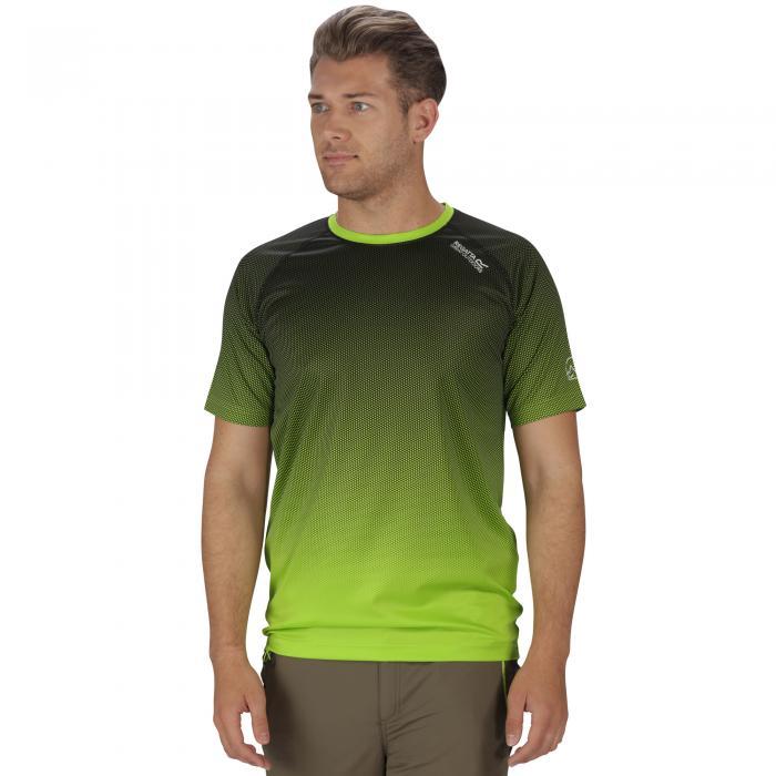 Hyperdimension T-Shirt Lime Green
