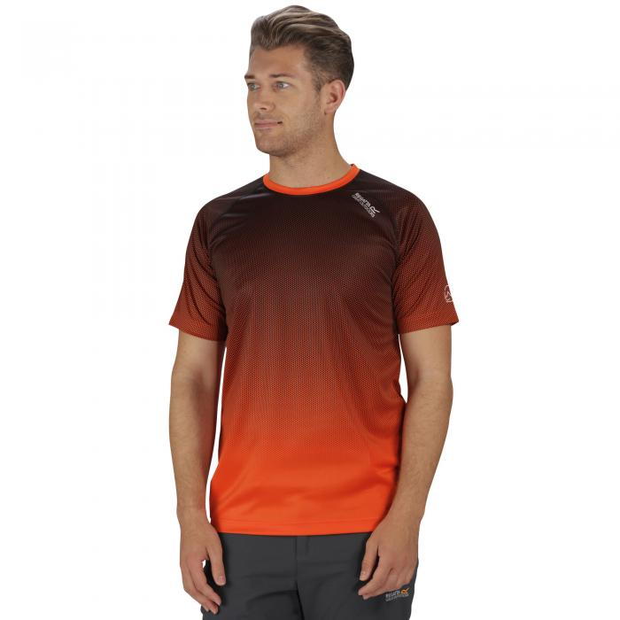 Hyperdimension T-Shirt Magma Orange