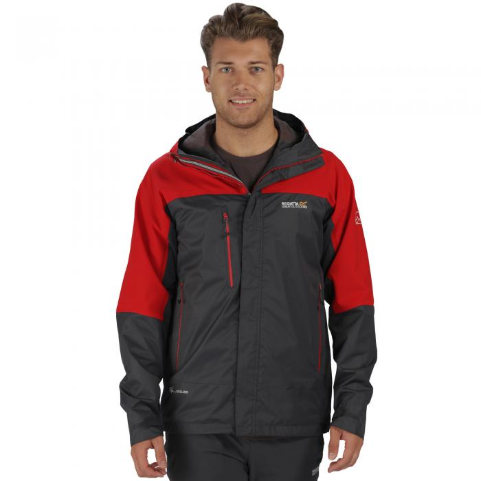 Cross Penine III Hybrid Jacket Grey Pepper