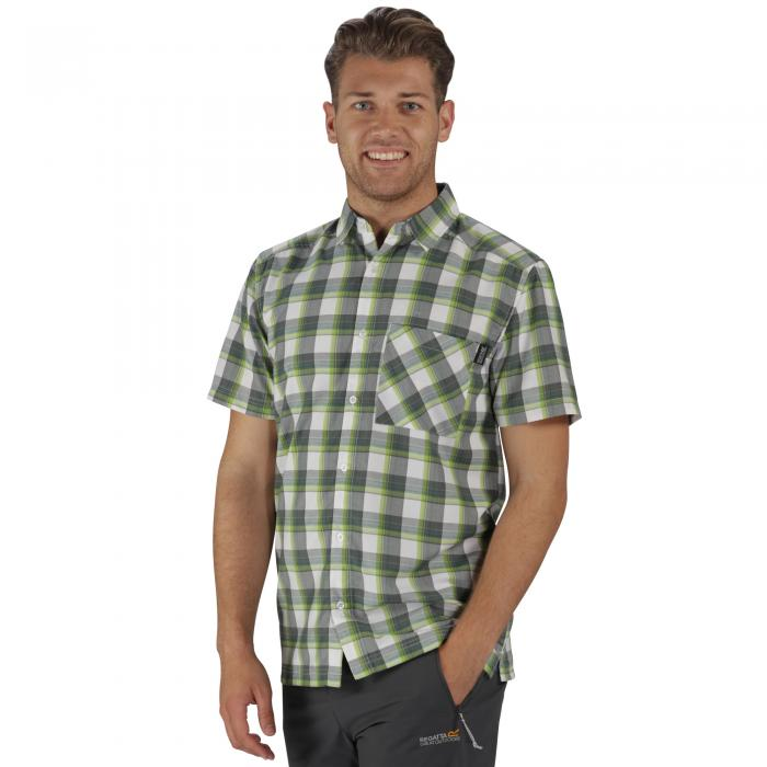 Kalambo II Shirt Hunter Green