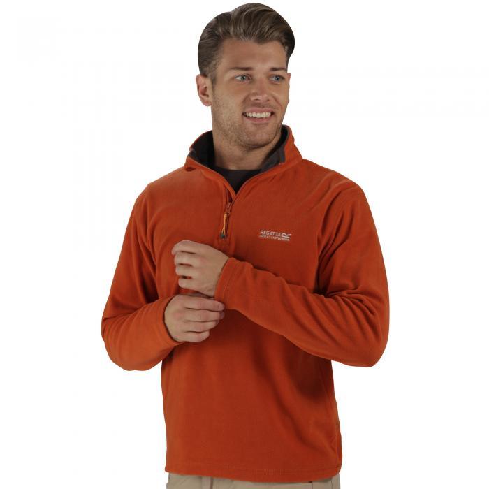 Thompson Fleece Burnt Orange