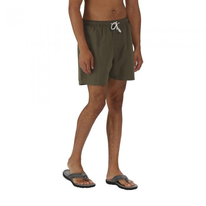 Mawson Swim Shorts Olive Night