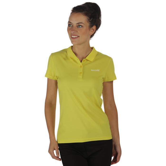 Women's Maverik III Polo Shirt Limetta