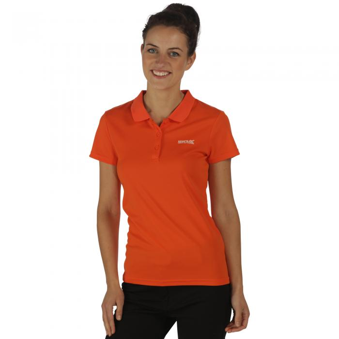 Women's Maverik III Polo Shirt Pumpkin