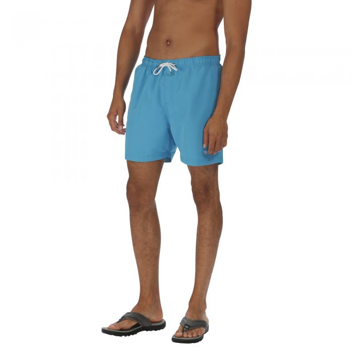 Mawson Swim Shorts Coastal Blue