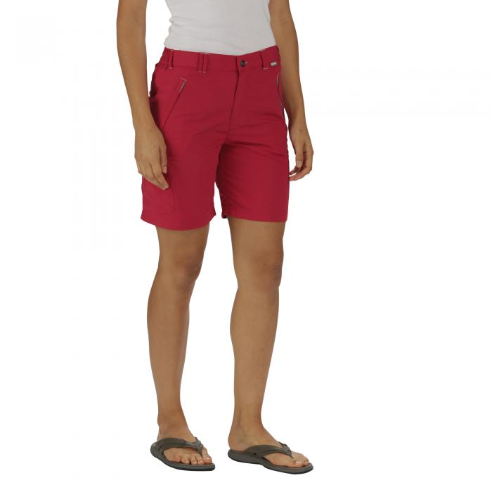 Chaska Shorts Dark Cerise