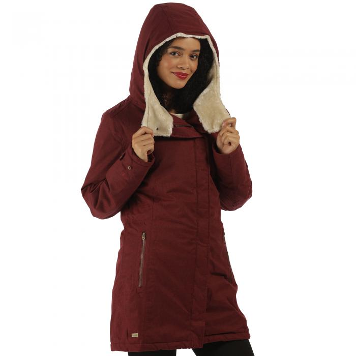 Serissa Jacket Spiced Mulberry